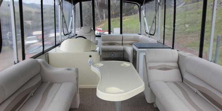 pontoon boat 38